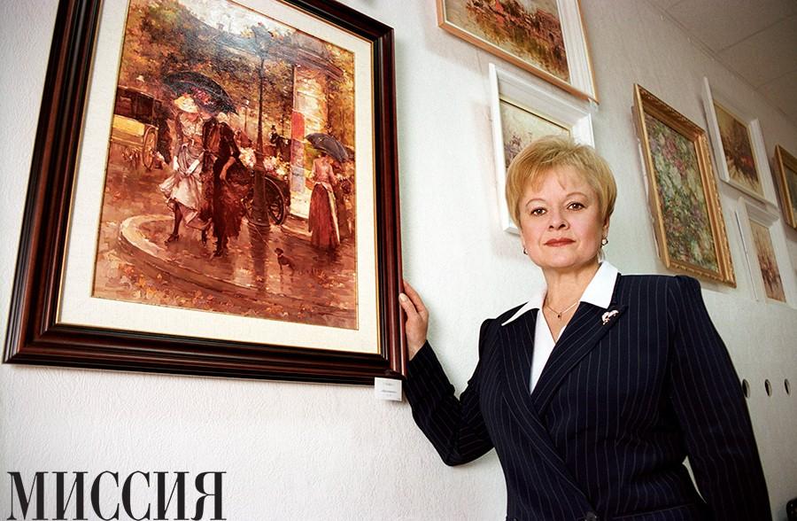 Наталья Рушанина: «Искусство ссоры мне не дано»
