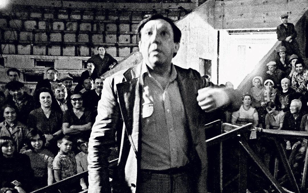 Юрий Никулин настроительстве цирка