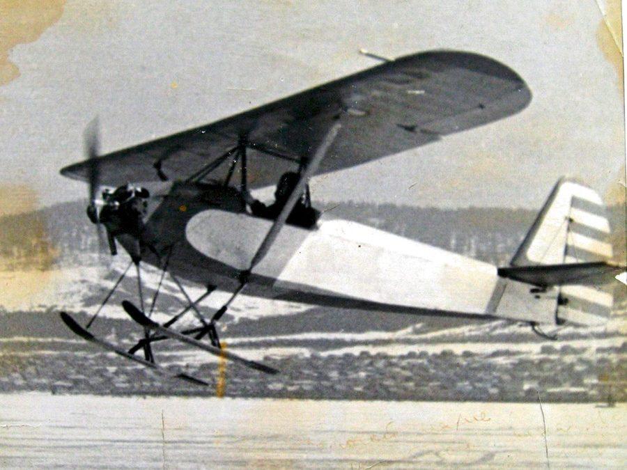 Самый лёгкий в мире самолет